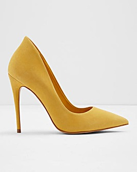 Aldo Cassedy Leather Court Shoe Wide E Fit