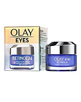 Olay Retinol 24 Night Eye Cream Fragrance Free 15ml