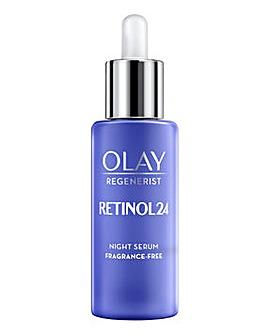 Olay Retinol 24 Night Serum Fragrance Free 40ml