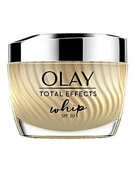 Olay Total Effects Whip Light Moisturiser with SPF 30 50ml