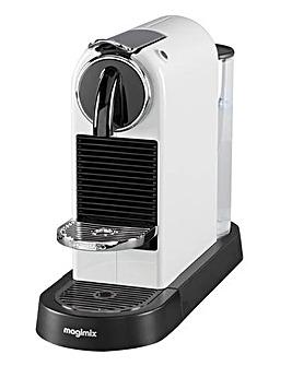 Nespresso by Magimix Citiz White Capsule Coffee Machine