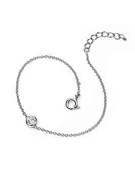 Sterling Silver Simple Chain Bracelet