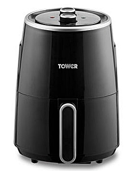 Tower T17066 1.8Litre 1300W Compact Black Air Fryer