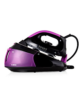 Tower T22015PURBF Turbo Power 2400W Steam Generator Iron