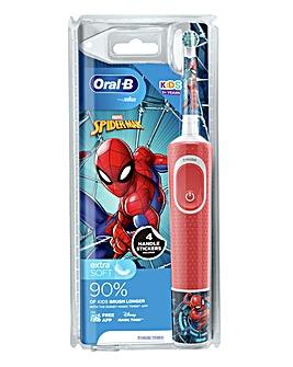 Oral B Vitality Kids Spiderman Electric Toothbrush