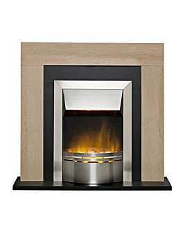 Dimplex MBL20 Marbello Optiflame Electric Suite Fireplace
