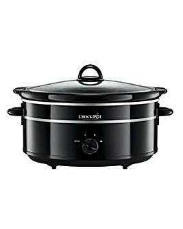 Crockpot SCV655B 6.5 Litre One Pot Black Manual Slow Cooker