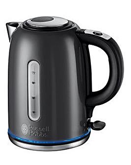 Russell Hobbs 20463 Quiet Boil Grey Kettle