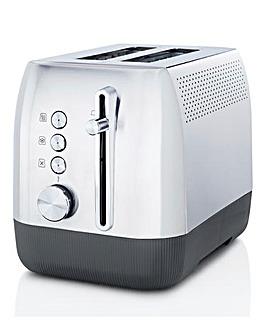 Breville VTT981 Edge Brushed Stainless Steel 2 Slice Toaster