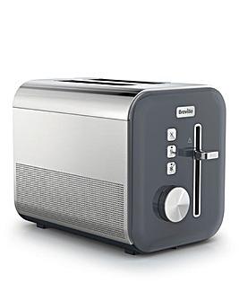 Breville VTT968 High Gloss Grey 2 Slice Toaster