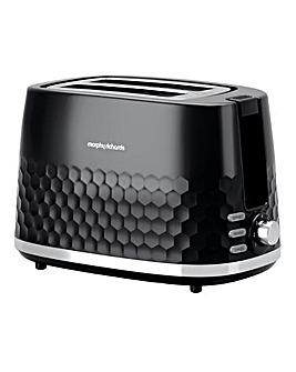 Morphy Richards 220031 Hive 2 Slice Black Toaster
