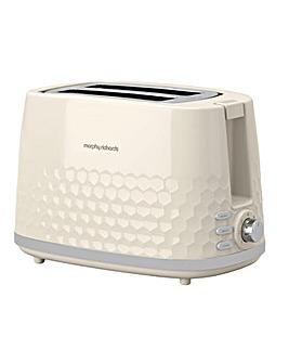 Morphy Richards 220032 Hive 2 Slice Cream Toaster
