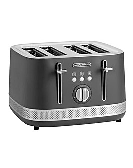 Morphy Richards 248022 Illumination 4 Slice Titanium Toaster