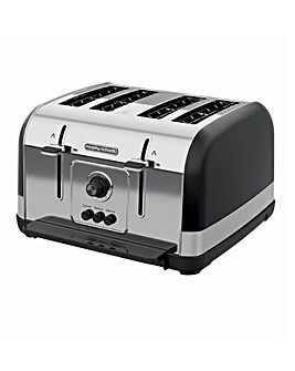 Morphy Richards 240131 Venture 4 Slice Black Toaster