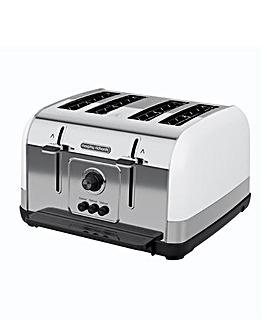 Morphy Richards 240134 Venture 4 Slice White Toaster