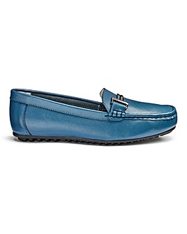 Leather Loafers E Fit