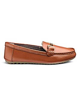 Leather Loafers EEE Fit