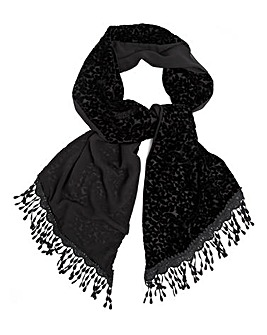 Top to Toe Devore Scarf