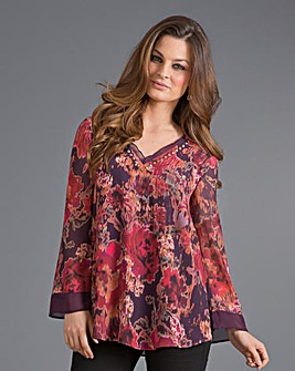 Top to Toe Print Blouse
