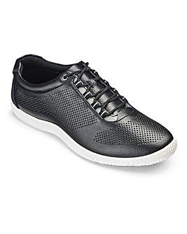Heavenly Soles Lace Up Shoes Wide E Fit