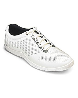 Heavenly Soles Lace Up Shoes Wide E Fit