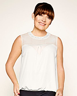 Lorraine Kelly Shell Top