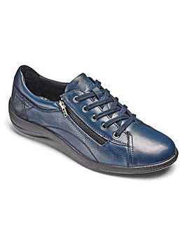 Padders Leather Lace Up Shoes Extra Wide EEE Fit