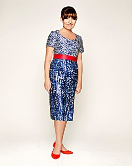 Lorraine Kelly Print Dress
