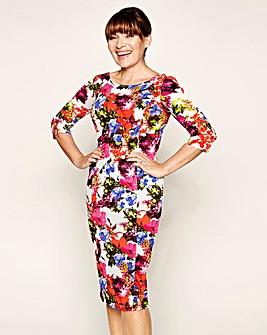 Lorraine Kelly Printed Textured Dress