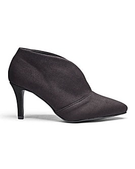 Pointed Toe Ankle Boots Wide E Fit