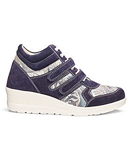 Wedge Leisure Shoes Wide E Fit