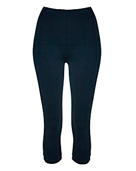 Essential Crop Jersey Leggings