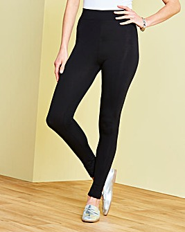 Essential Crop Jersey Leggings