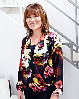 Lorraine Kelly Floral Blouse