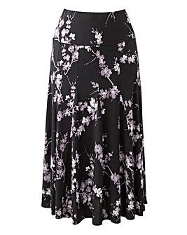 Soft Jersey Skirt Length 32in