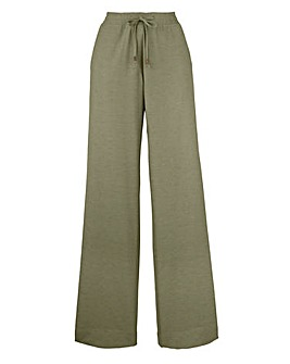Linen Mix Trousers - Long