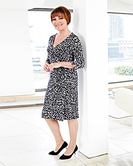 Lorraine Kelly Leopard Wrap Dress