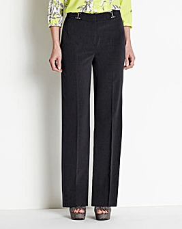MAGISCULPT wide leg trouser with 4 way stretch. Extra Short