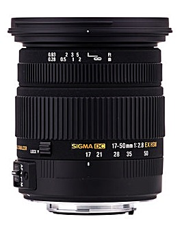 Sigma 17-50mm f/2.8 Sony Lens