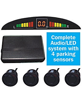 Reverse Parking System with LED display