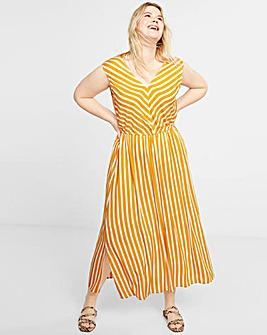 Violeta by Mango Midi Dress