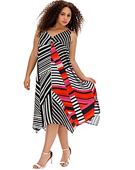 Live Unlimited Hanky Hem Swing Dress