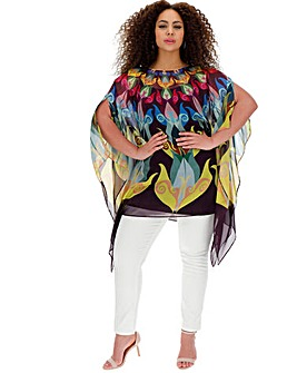 Live Unlimited Luxe Bright Summer Kaftan