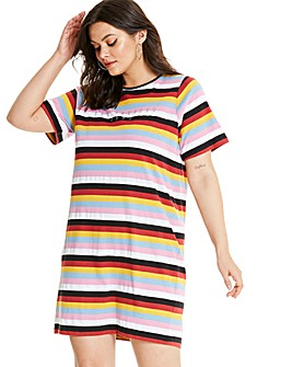 Daisy Street Los Angeles T-Shirt Dress