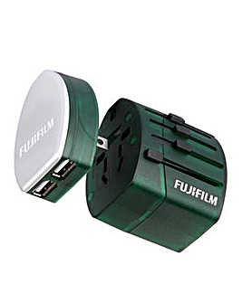 Fuji World Trip Dual USB Charger