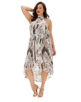AX Paris Floral Pleat Dress