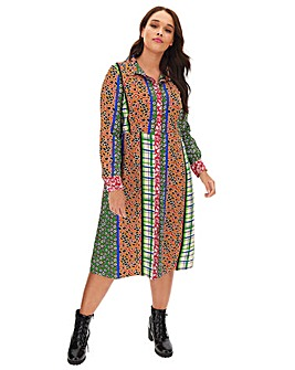 Glamorous Midi Shirt Dress
