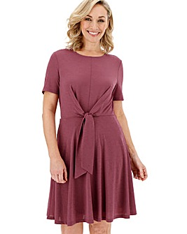 Vero Moda Knot Front Skater Dress