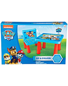 Paw Patrol Sit and Colour
