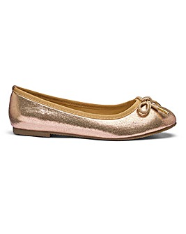 Bow Ballerina Shoes EEE Fit